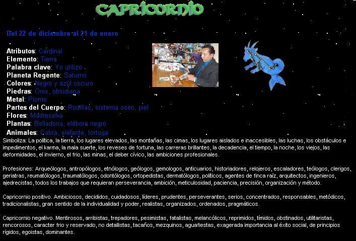 horoscopo de hombres: